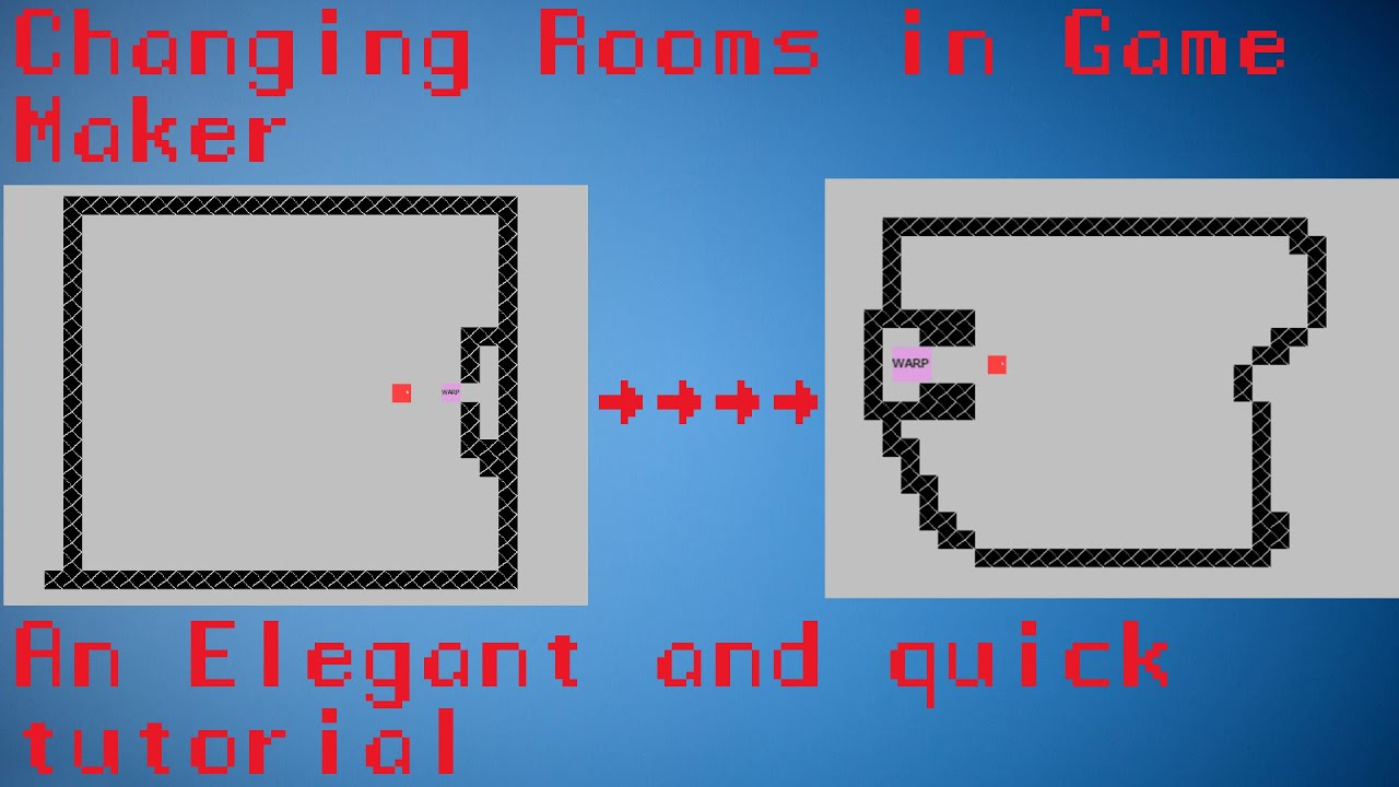 How To Make A Room Transition In Gamemaker
