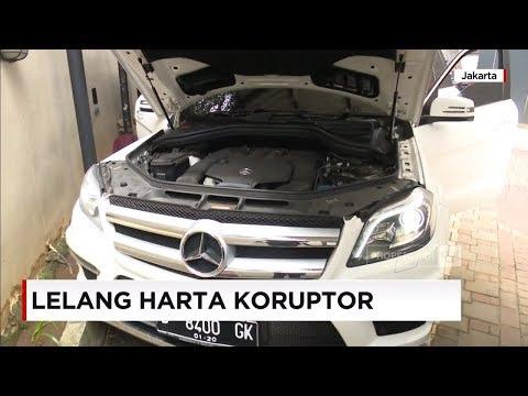 KPK Lelang Harta Koruptor, Mobil Mewah dari Mercy, Lexus, Land Cruiser