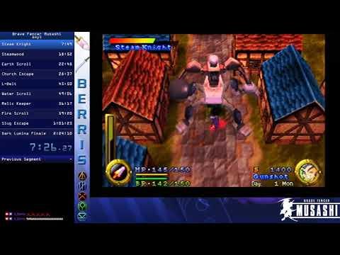 Brave Fencer Musashi Any% 02:18:05
