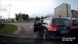 Polscy kierowcy  - bójki na drodze w Polsce