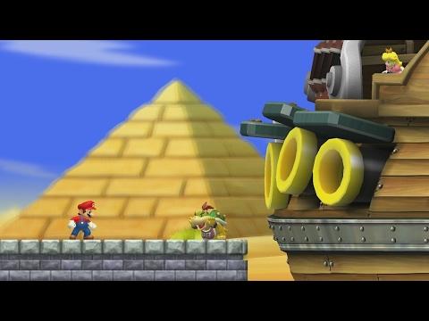 New Super Mario Bros. Wii - World 2 (Complete)