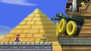 Скачать New Super Mario Bros Wii World 2 Complete