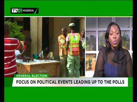 Focus on political events leading up to the 2019 elections