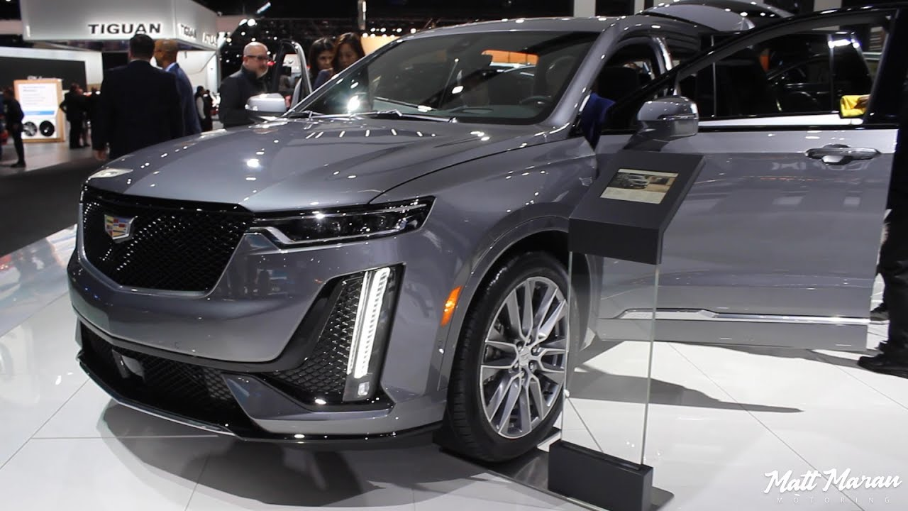2020 Cadillac Xt6 Close Up Look 2019 Naias Youtube