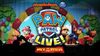 Paw Patrol Live UK - On Stage - Race to the Rescue - Birmingham - Mama Geek