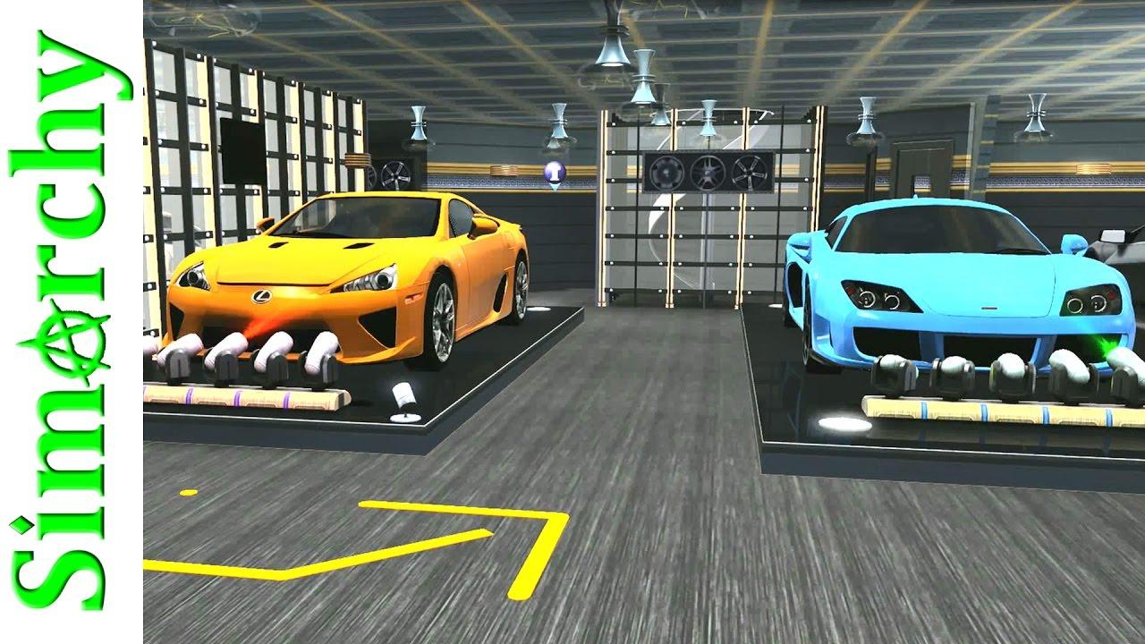 The Sims 3 House Tour Custom Car Showroom Private Garage