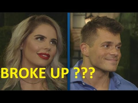 Did Mark Jansen and Elena Davies Broke up for reason after big brother