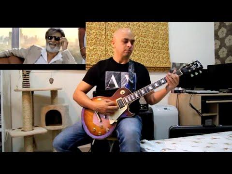 Neruppu da - Kabali Theme Song - Guitar cover