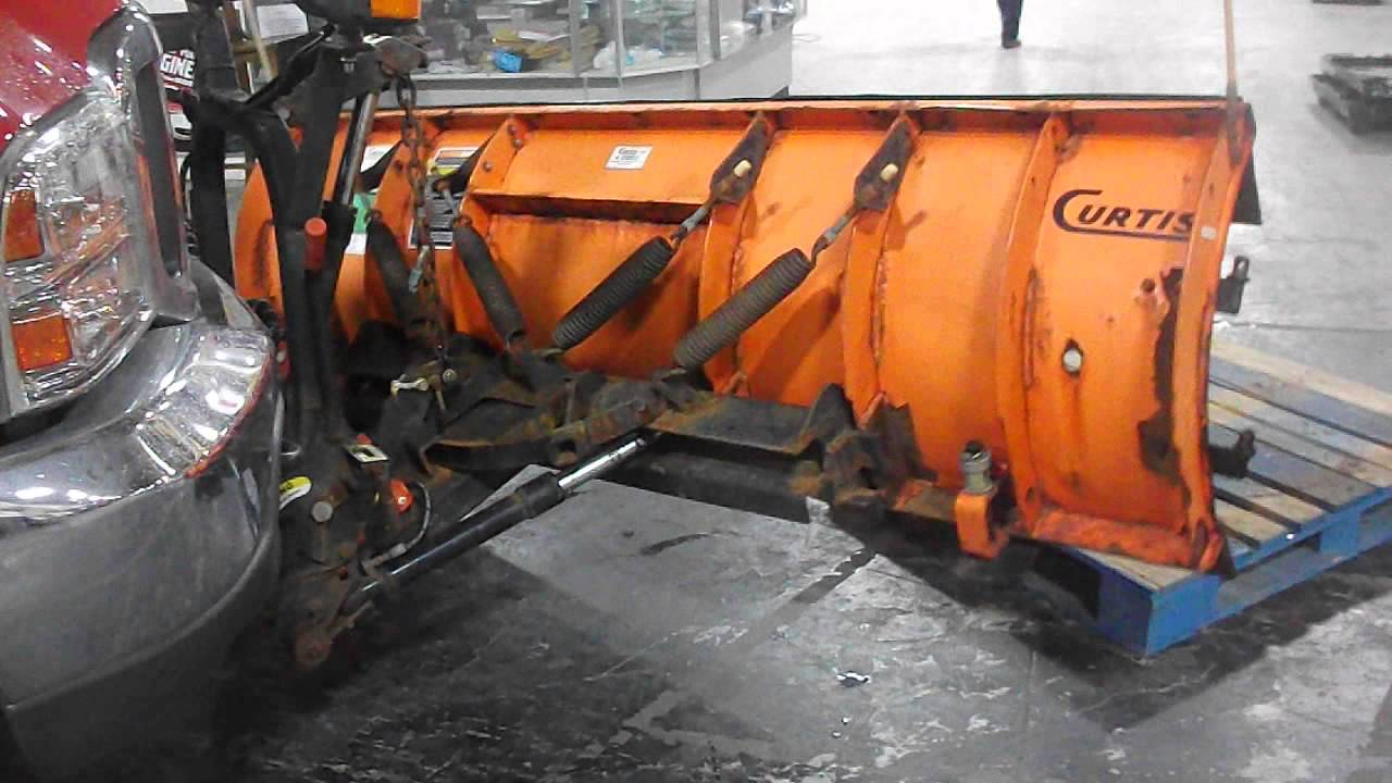 curtis snow plow curtis snow plow