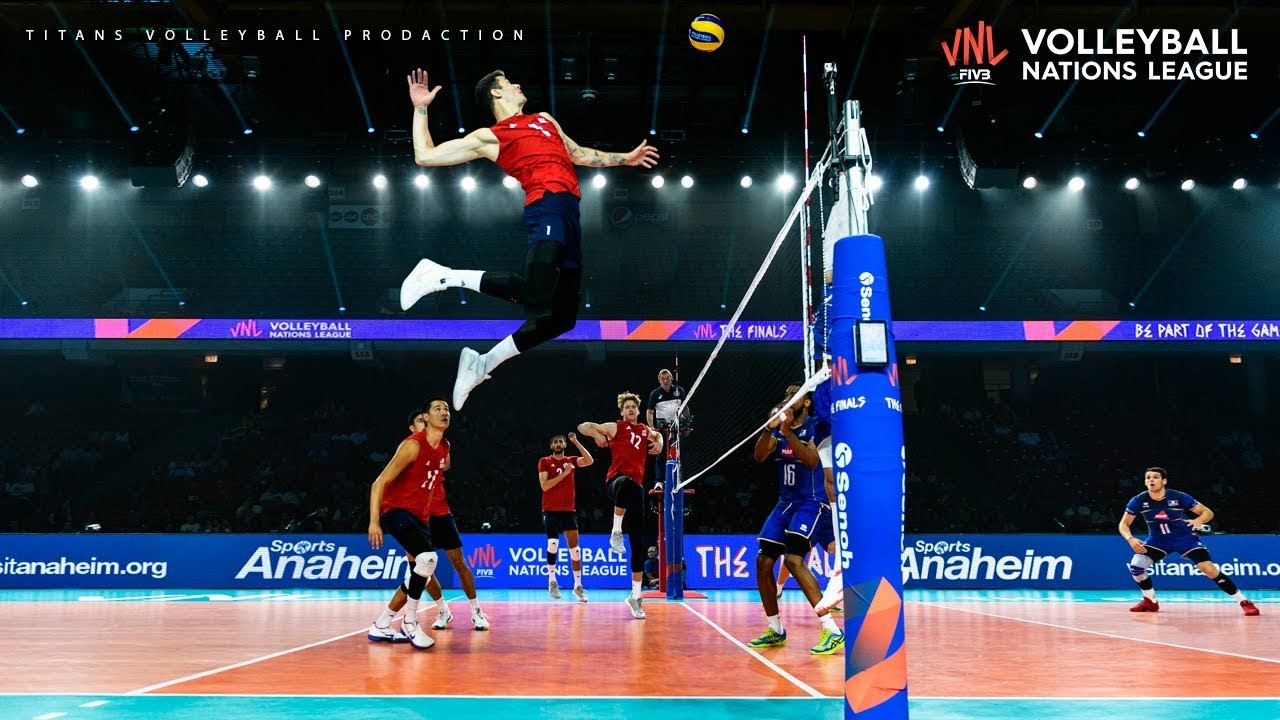 Top 20 Volleyball Quick Spikes Men S Vnl 2019 Youtube