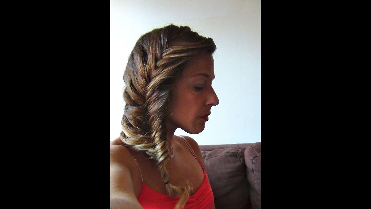 Tuto Coiffure 50 , Tresse Epi Romantique (cheveux mi,longs et longs) , YouTube