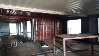Frame & Red Oxide | Shipping Container | 720 Sqft Hall | Shipping Container House In Pakistan |