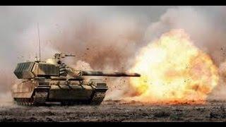 Видео танкового боя под Донецком