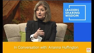 Arianna Huffington: Disconnect and Reconnect with Yourself