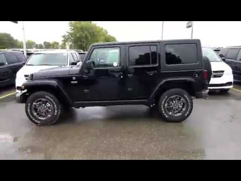 2017 Jeep Wrangler Unlimited Sahara 75th Anniversary Stock 29959