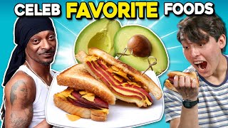 Trying The Weirdest Celebrity Recipes | People Vs. Food