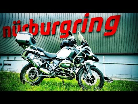 Nurburgring Nordschleife Lap onboard BMW 1200 GS LC (Wet lap)