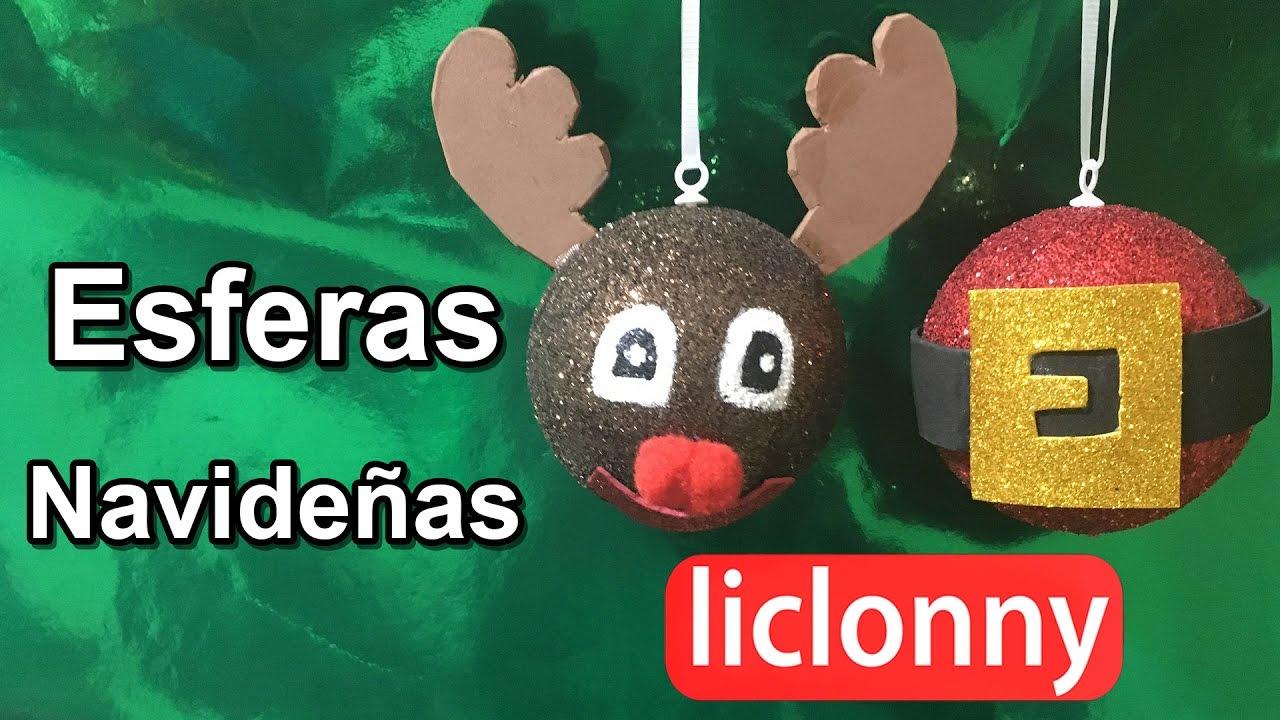 Tutorial Como Hacer Esferas Navideñas Diy Decorativas Y Muy Fáciles De Hacer Liclonny