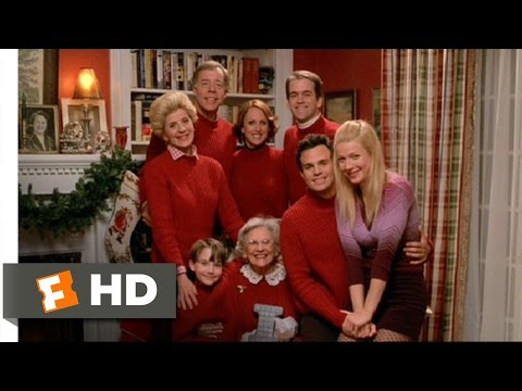 View from the Top (8/12) Movie CLIP - Stewart Family Christmas (2003) HD