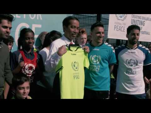 'City for Peace' Newham Showcase - President Jokowi of Indonesia Visit