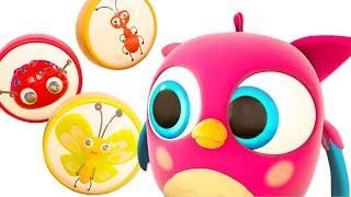 Развивающие мультики для малышей Совенок Хоп хоп. Новая серия - Насекомые @Совенок Хопхоп