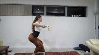 Tari Panyembrama from behind for dance practice