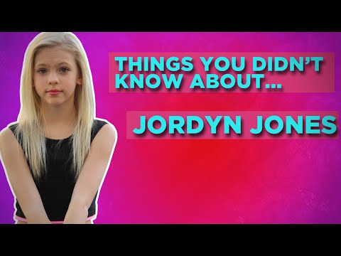 Things You Didn't Know About Jordyn Jones!
