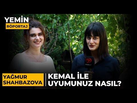 Kemal ile Uyumunuz Nasıl? | Yemin Dizisinin Yeni Yüzü, Yağmur Shahbazova Sorularımızı Cevapladı