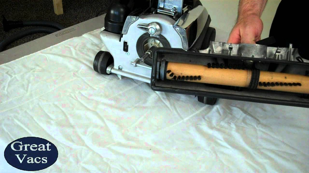 How To Replace A Kirby Vacuum Belt Tutorial Replace Youtube