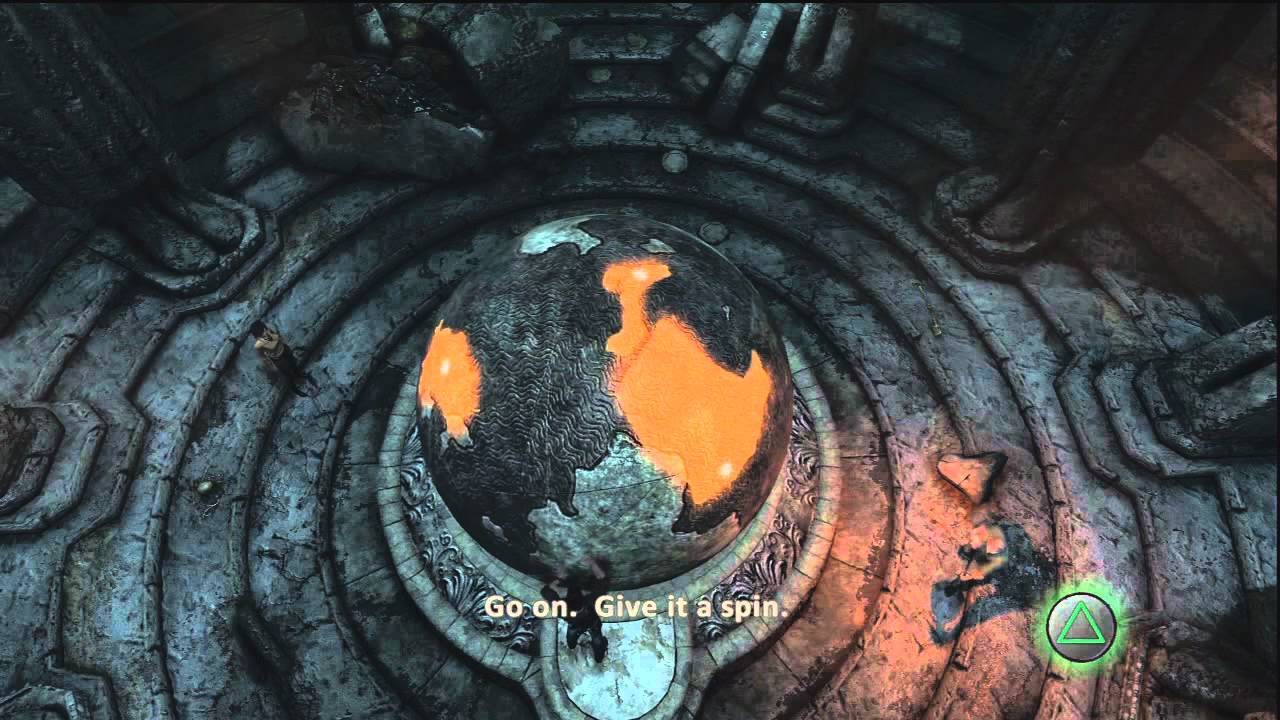 Uncharted 3 Part 11 Globe Puzzle (Commentary) - YouTube