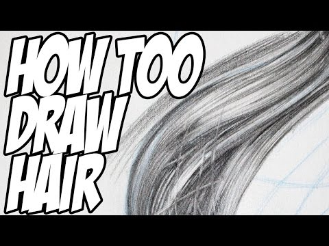 how-to-draw-realistic-hair-with-pencil