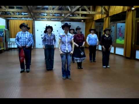 FREE AND EASY - country line dance
