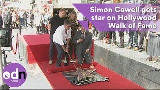Simon Cowell gets star on Hollywood Walk of Fame
