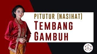 Gambar cover PITUTUR LUHUR (NASIHAT) dari Tembang Macapat Gambuh