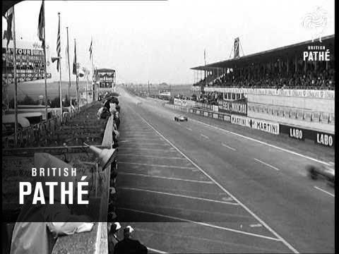 French Grand Prix Won By Jackie Stewart (1968)