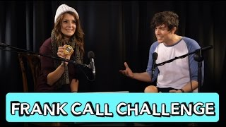 THE FRANK CALL CHALLENGE W/ KickThePJ // Grace Helbig Thumbnail