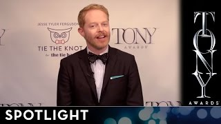 2014 Tony Awards - Jesse Tyler Ferguson's Tie the Knot Tony Bow Tie