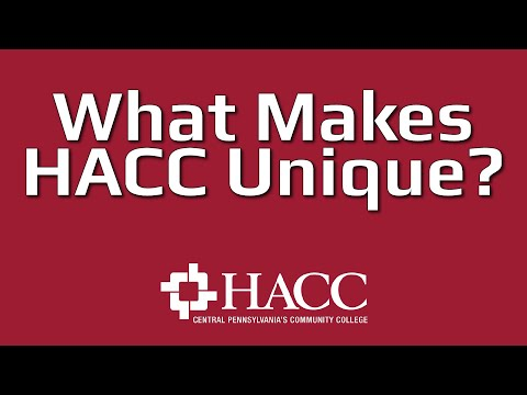 What Makes HACC Unique? from YouTube · Duration:  1 minutes 33 seconds