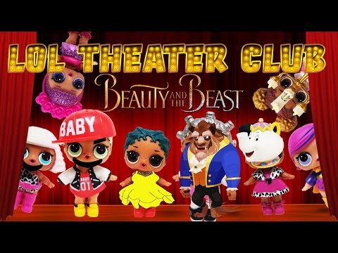 LOL Surprise Dolls Present Beauty and The Beast! Starring Sugar Queen, Dollface and MC Swag!