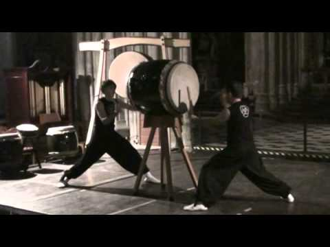 Kagemusha Taiko in Worcester Cathedral, October 2010