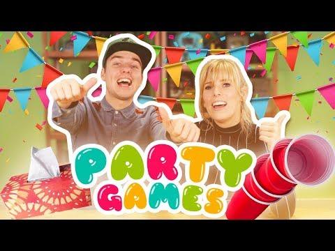 PARTY GAMES SPELEN!