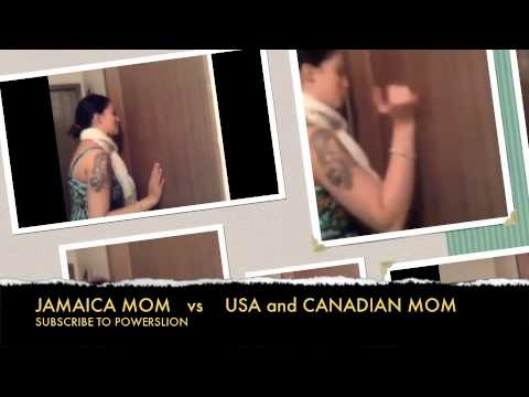 JAMAICAN VS USA AND CANADA MOMS
