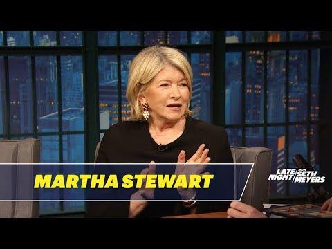 Martha Stewart Loves Snow Plowing