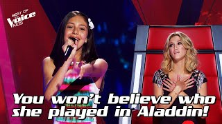 Lenisa sings 'A Whole New World' from Aladdin | The Voice Stage #10