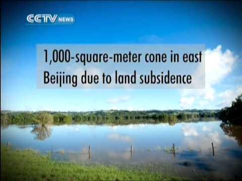 500m cubic meters of groundwater pumped each year in Beijing
