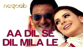 Aa Dil Se Dil Mila Le - Naqaab | Akshaye Khanna & Urvashi Sharma | Alisha Chinai & Krishna
