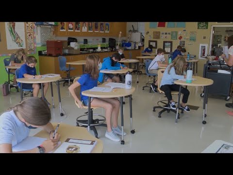 Francis Parker School welcomes students back in hybrid learning model