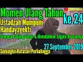 Ustadzah Mumpuni Ulang Tahun 27 September 2019.  Pengajian di Desa Sumingkir Kutasari Purbalingga