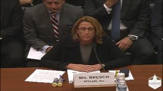 EpiPen Maker CEO Grilled By Congress