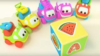 Би-Би Знайки – Буква А -  мультфильм про машинки – учим алфавит